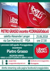 PIETRO GRASSO CORAGGIODALEU PISA